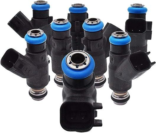 labwork 8X Fuel Injectors 12613411 for Chevrolet Suburban Silverado Tahoe GMC