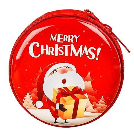 mollylover Cartera de Mujer con Monedero, Tarjetero y Billetera Pequeña también Hombre Billetera de Navidad