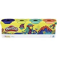 Play-Doh 4-Pack (Wilde Kleuren)