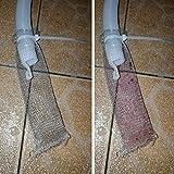 12 Pack Washing Machine Lint Traps with 12 Nylon