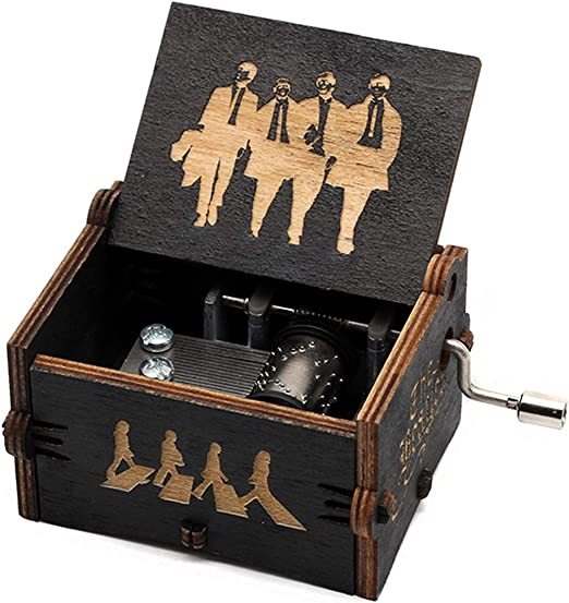 Evelure Cajas de música de los Beatles, Cajas de música de Madera ...