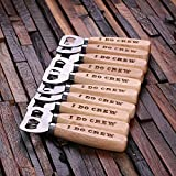 Cheap Engraved Wood Handle Bottle Opener-Sorority, Fraternity, Team Sports, Groomsmen Gift – Groomsman Gifts For Wedding, Wedding Favor Customized – Engraved Custom Personalized Bottle Opener Gift
