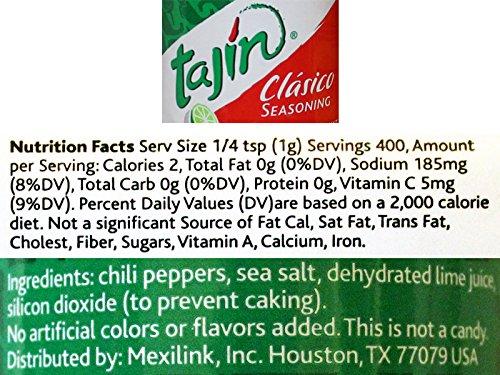 Tajin Fruit & Snack Seasoning 14 oz Bottle and Amor Chamoy Sauce 33 oz Bottle Bundle With 1 Toothpick Carrier From Tasteful Blends by Tajin, Castillo Salsas & Tasteful Blends (Image #1)