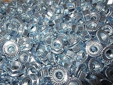 25 pcs 1//2-13 Grade 8 All Metal Flange Lock Nut//Wiz Nuts 25 pcs 1//2 x 13