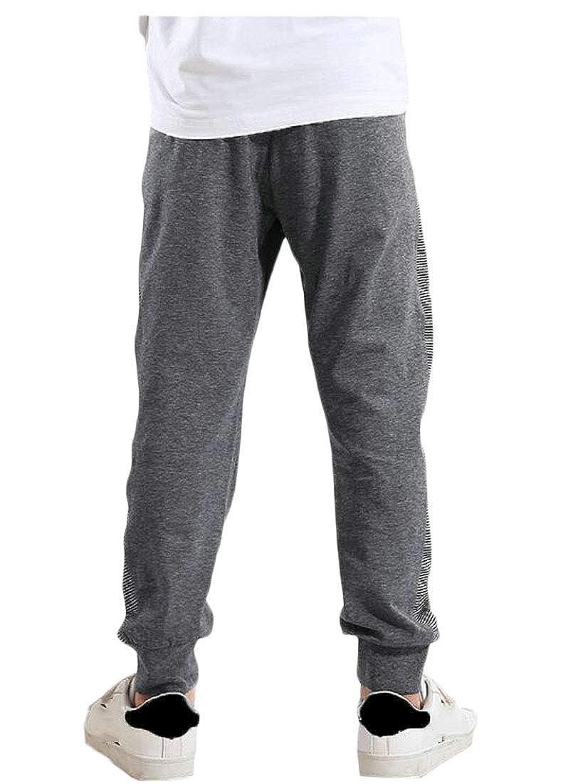 Wofupowga Boys Cute Jogging Soft Sweatpants Sports Slim Pants