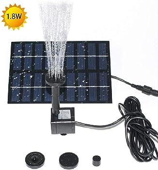 Cosscci 1.8W Solar Fountain Water Pump
