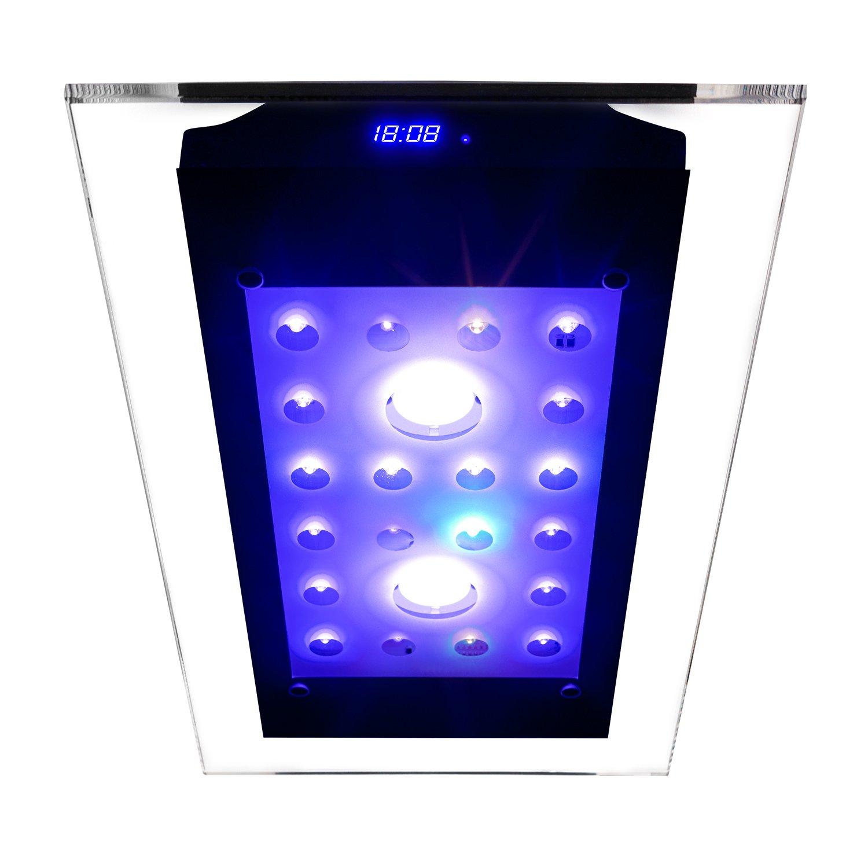eSmart Germany | Sweet Nemo Glass 2 | Aquariumbeleuchtung für Süßwasser | 110 W | 9.000 lm | Programmierbar | inkl. Kühlung | Aquarium Beleuchtung Aquarium Leuchte Aquarium Lampe