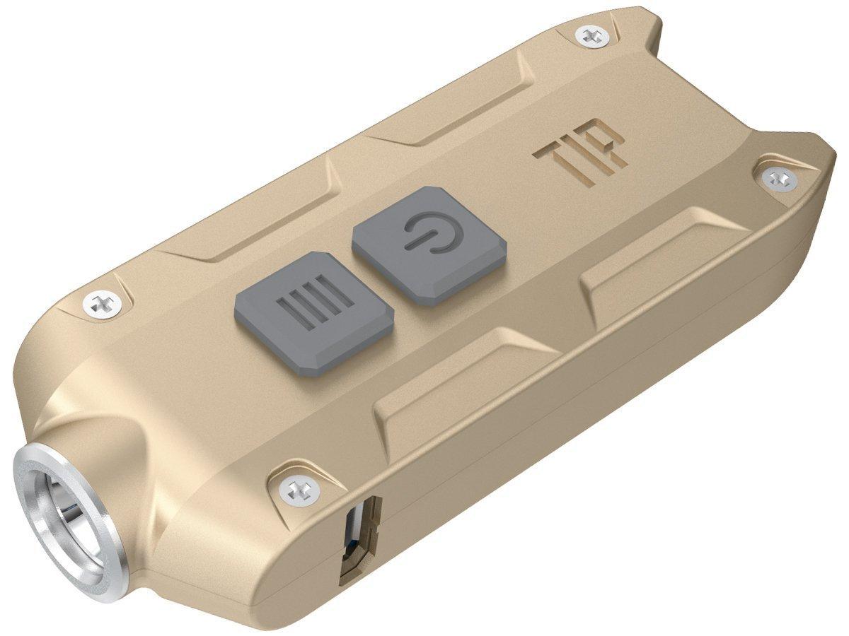 Nitecore Tip 2017 CRI, Gold Taschenlampe, One Size D6L8O|#Nitecore TIP2017