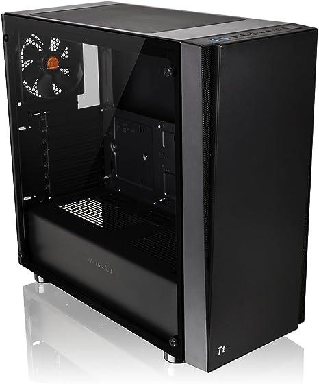 Thermaltake Versa J21 CA-1K1-00M1WN-00 - Caja de Ordenador Modular para Videojuegos (Cristal Templado, ATX, Vertical, GPU): Amazon.es: Informática