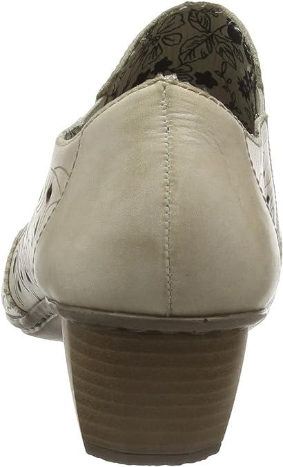 Rieker 41757 Women Loafers, Mocassins Femme, Beige