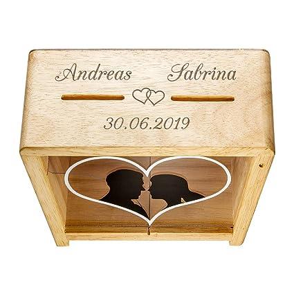 Sammeln & Seltenes Hochzeit Spardose Hochzeit Geldgeschenk Sparbüchse Just Married Holz Dekoration 15 x 15