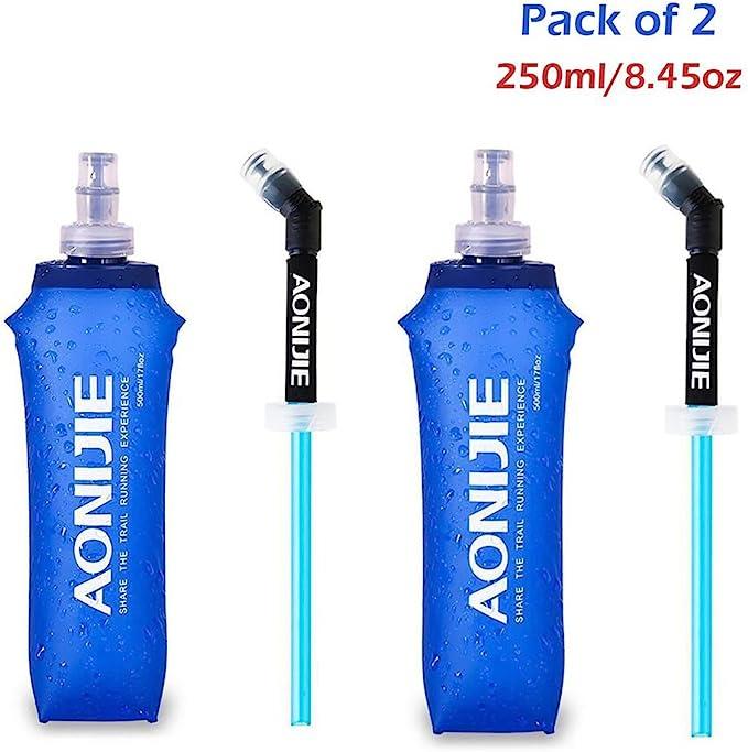 Drinking Straw for AONIJIE Soft Running Water Bottle Straw Hydration Bottle Z6J3
