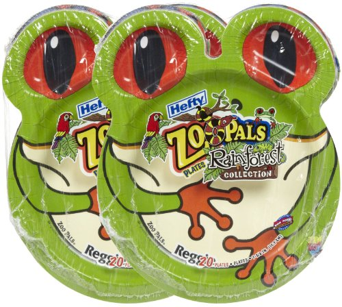 Hefty Zoo Plates