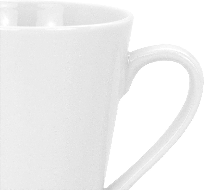 Argon Tableware Juego de Tazas Blancas para el café o té - 285 ml - Pack de 24: Amazon.es: Hogar