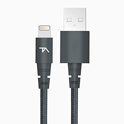 Tech Armor Apple MFi Certified Lightning to USB Sync/Charge Cable Compatible
