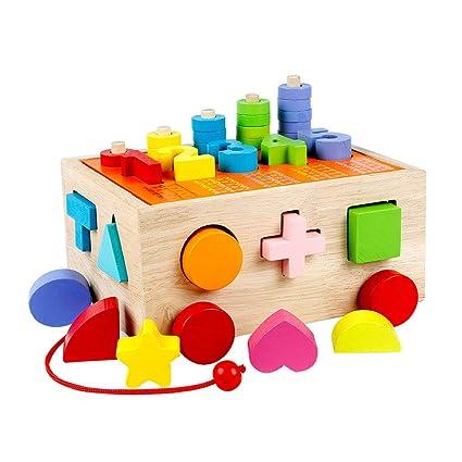 Bloque De Construccion Infantil Juguetes Juguetes 0 1 2 3 Anos De