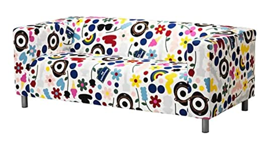 Amazon.com: Fornyad IKEA Klippan Loveseat Slip Cover Design ...