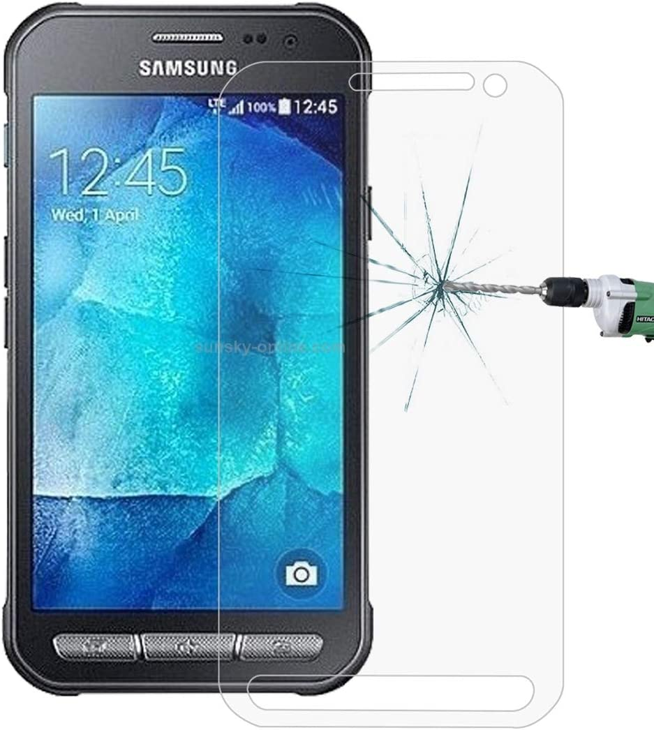 Pokjsofjnjlfkl Phone Accessories 50 PCS for Galaxy Xcover 4 G390F 0.26mm 9H Surface Hardness Explosion-Proof Non-Full Screen Tempered Glass Screen Film Screen Protectors for Phone