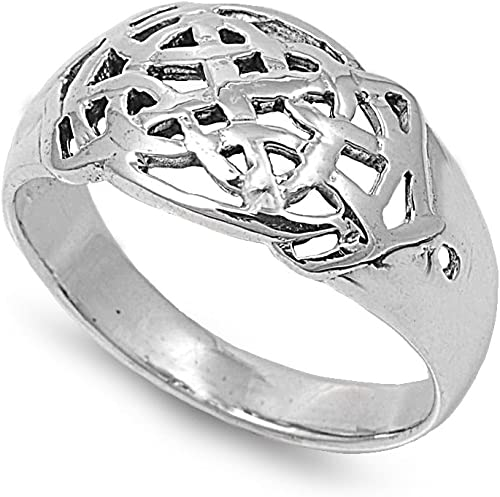 Princess Kylie Clear Cubic Zirconia Musical Note Ring Sterling Silver