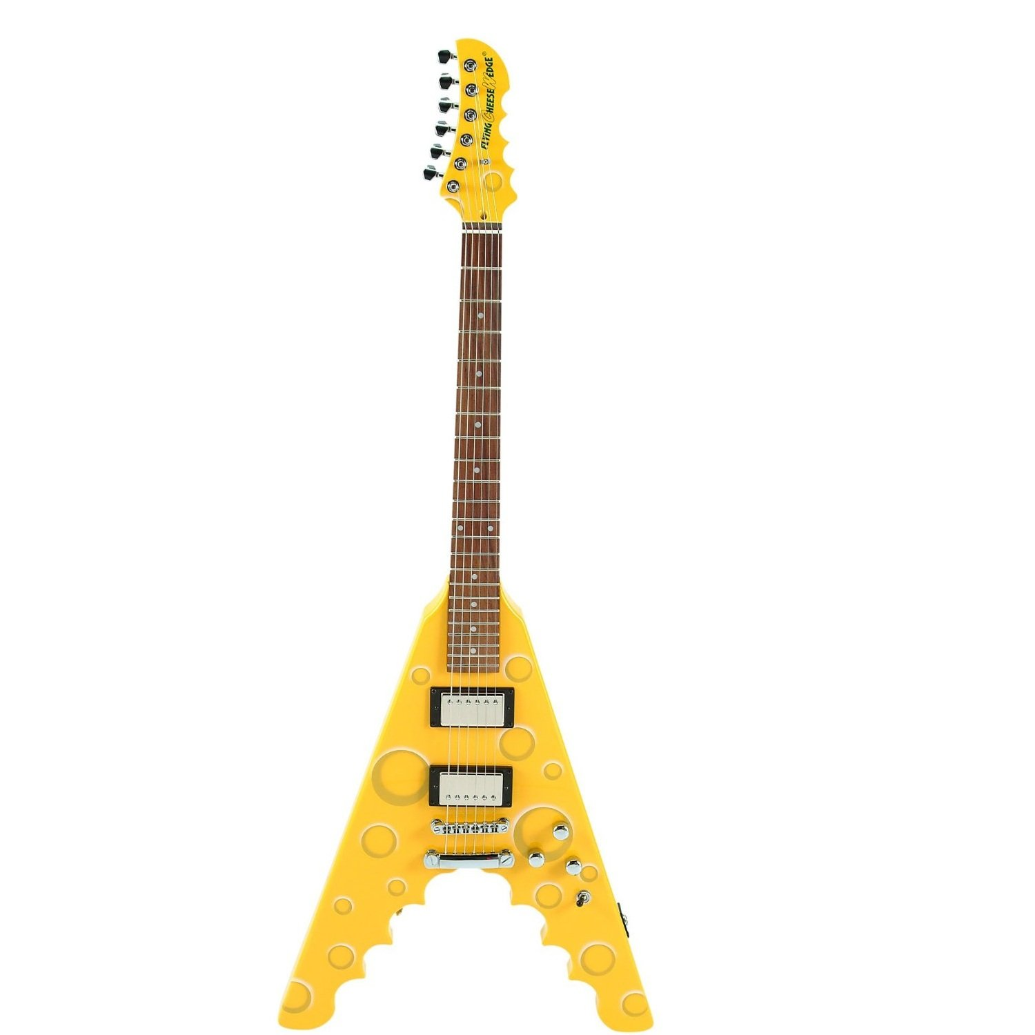 archer cheesewedge flying cheese wedge electric guitar