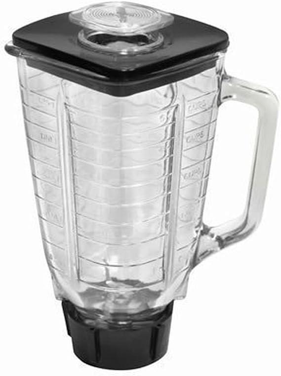 5 taza cuadrado 6 piezas Juego completo de jarra de cristal de ...