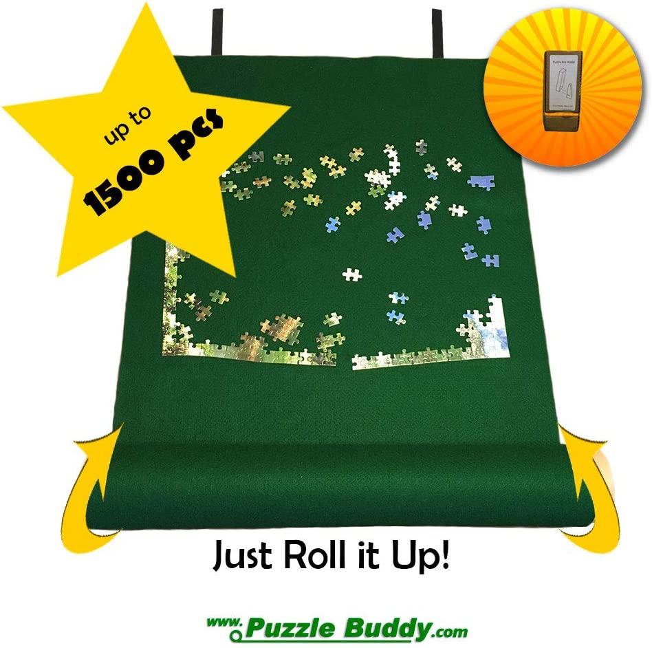 Puzzle Buddy: Jigsaw Puzzle Roll Up Felt Mat