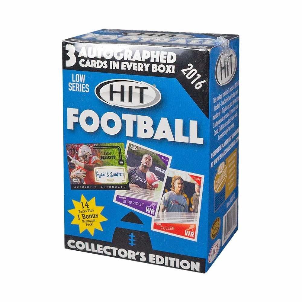 2016 Sage Hit Low Series Football Blaster Box Sage Hit Low Football