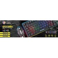 لوحة مفاتيح وماوس الألعاب فاخرة من Viper RGB لأجهزة بلاي ستيشن 4 وPS5 والكمبيوتر الشخصي