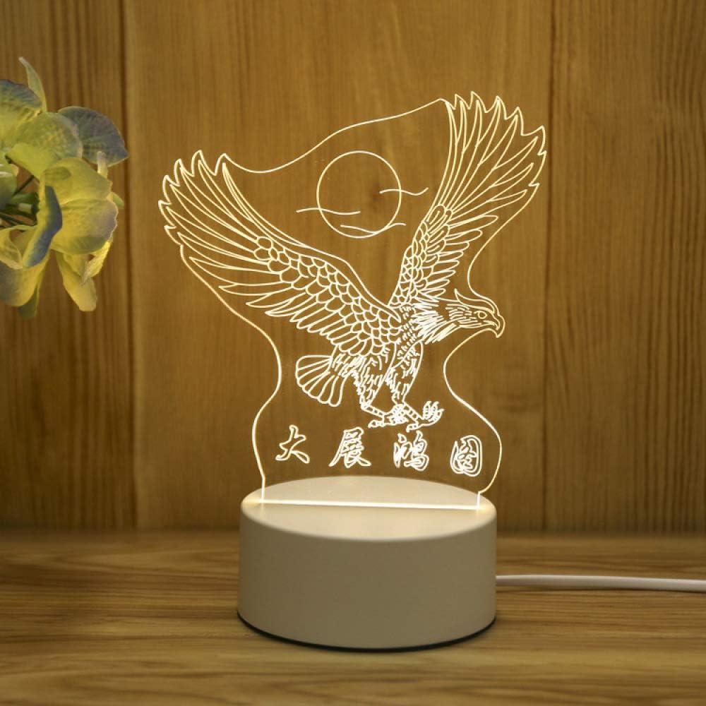 Creativo 3D luz de Noche led Regalo luz Ojo lámpara de Mesa Dormitorio Enchufe lámpara de Noche Regalo Gran exposición Macro Enchufe luz de Tres Colores 220V