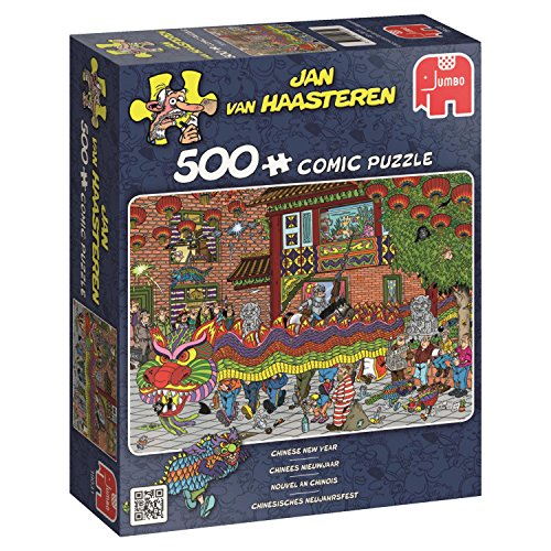 Jumbo Jan Van Haasteren Chinese New Year Jigsaw Puzzle (500 Piece)