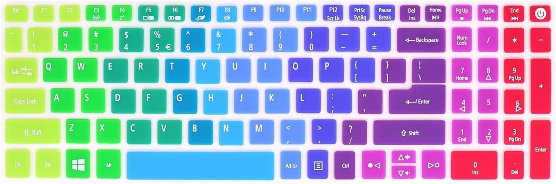 Funda de silicona para teclado Acer Aspire E15 E 15 E5-576 ...