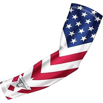 buy Bucwild Sports USA Flag Compression Arm Sleeve