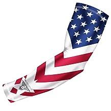 Bucwild Sports USA Flag Compression Arm Sleeve