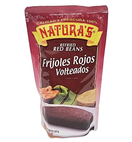 Naturas Doy Pack Red Beans 8 oz - Frijoles Rojos Volteados