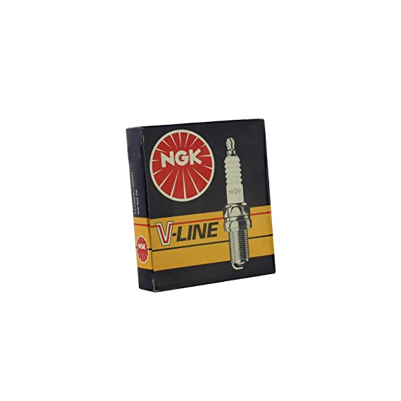 4x NGK Z/ündkerze Zuendkerze PZFR6R Set //// 5758//4-Zylinder