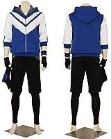 Men's Pokemon Go Blue Hoodie Trainer Team Valor Instinct Mystic Costume