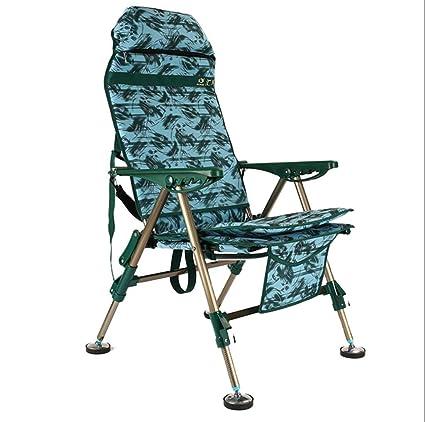 Amazon.com: CFJKN Silla de camping para personas pesadas ...