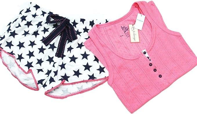 Primark - Pijama - para mujer rosa dunkelblau/weiss/rosa