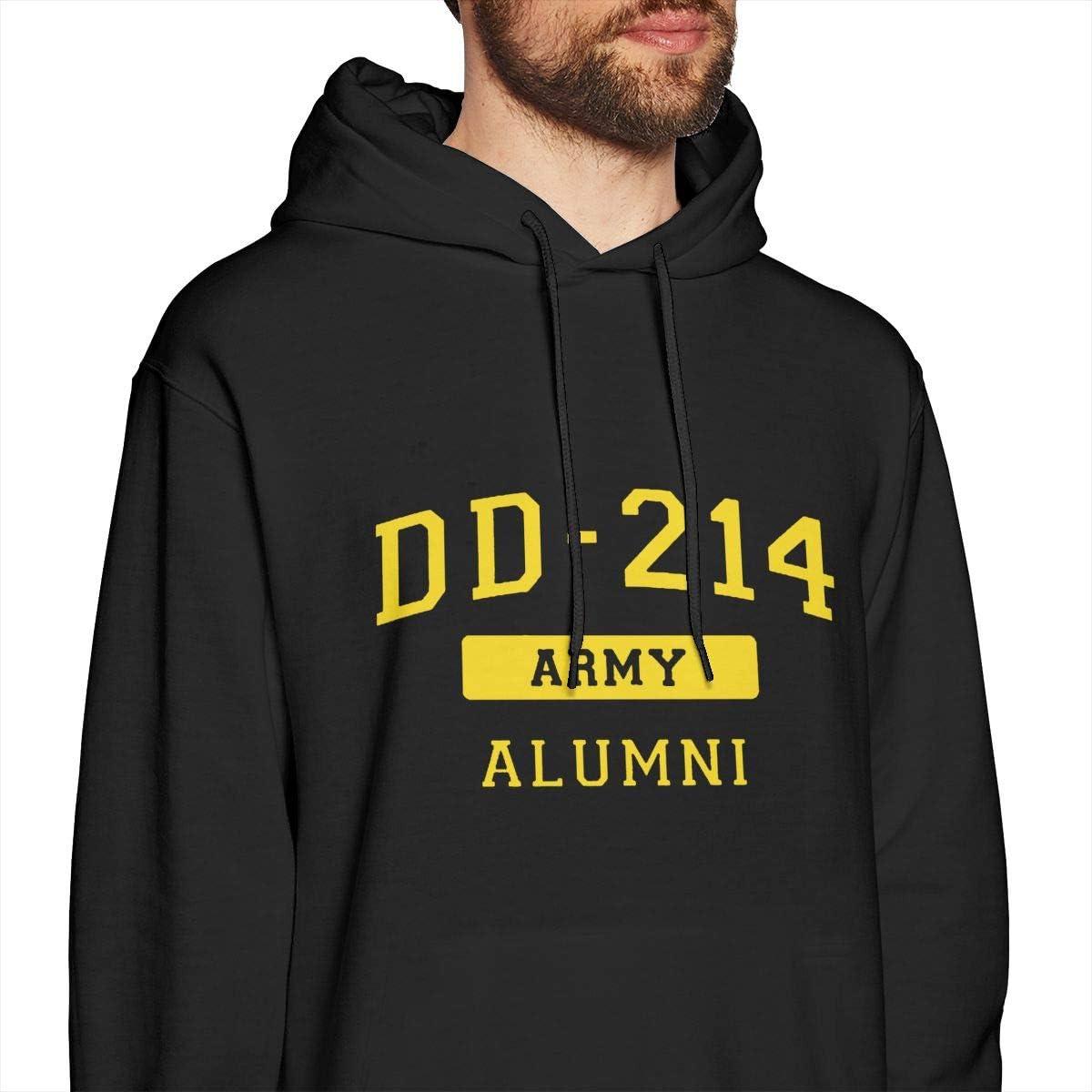 Proud DD214 Alumni Mens Sweatshirts Pullover Crew Neck Sweatshirt