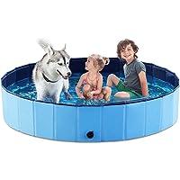 Jasonwell Foldable Dog Pet Bath Pool 63-inch Deals