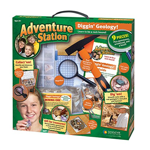 Adventure Station Rock Collection Kit - Diggin Geology Gear Apparel Toys, 2017 Christmas Toys