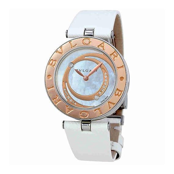Bvlgari B. Zero1 madre de perla diamante Dial Damas Reloj 102021
