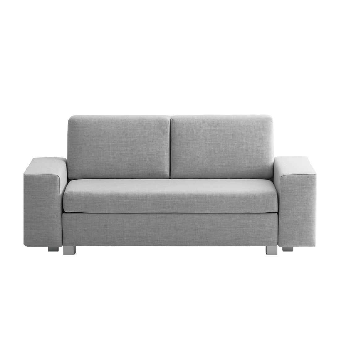 Sofas Grau Textil Breite 178 Cm Höhe 78 Cm Tiefe 82 Cm Sitzhöhe