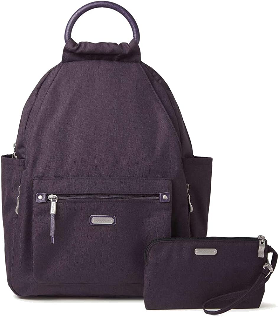 Baggallini All Day Backpack, Blackberry