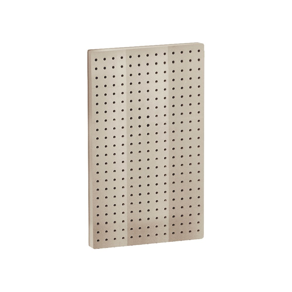 Azar 771322-CLR Pegboard 1-Sided Wall Panel, Clear Translucent Color, 2-Pack Azar Displays