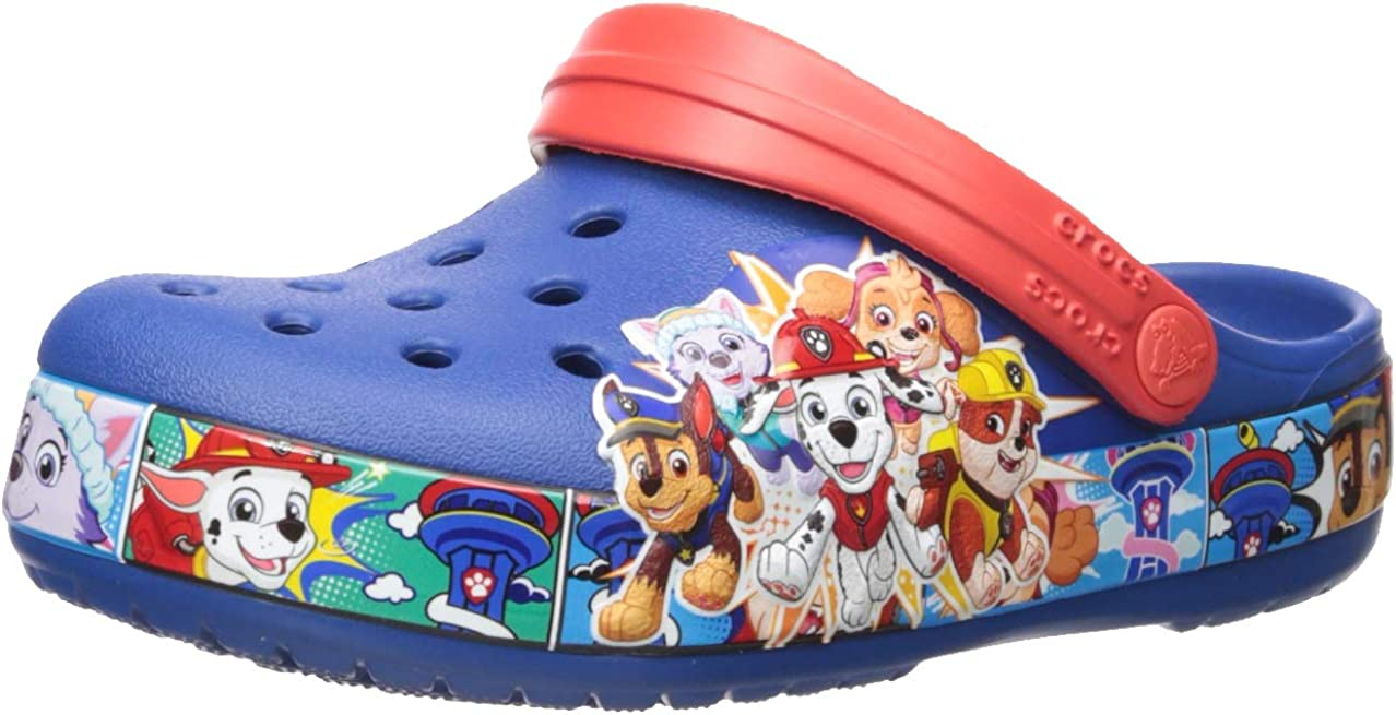 CROC Kids Paw Patrol Clog|Slip on Water Shoe for Toddlers