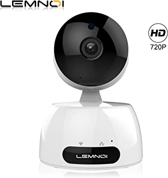Lemnoi Cámara IP 720P HD WiFi Cámara de vigilancia, Audio ...
