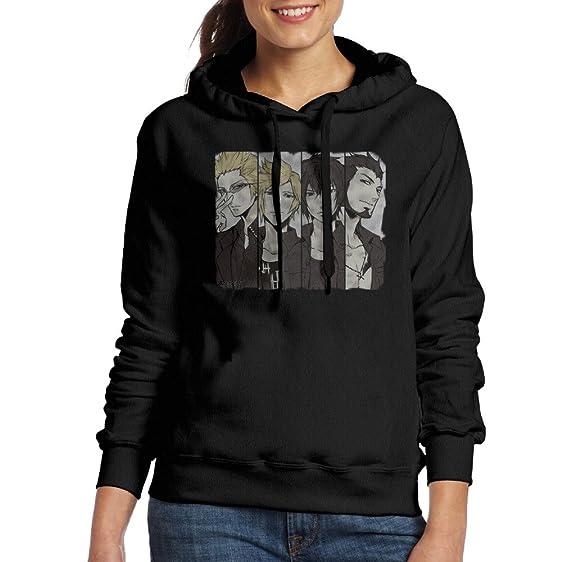 final fantasy xv black womens pullover sweatshirts at amazon women s