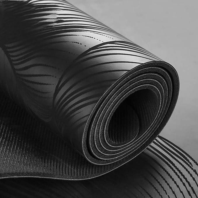 Amazon.com : YXGYJD Pilates Mat Yoga Mat Rubber Yoga Mat, Non-Slip, Wear-Resistant, Pressure-Resistant, Durable Specifications: 183X65CM Thickness: 4mm, ...