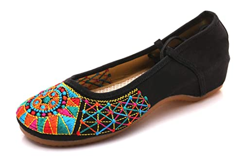 Bordado Zapatos/Alpargatas/ Merceditas/Zapato Bordado Zapatos de Fondo, Zapatos de Mujer